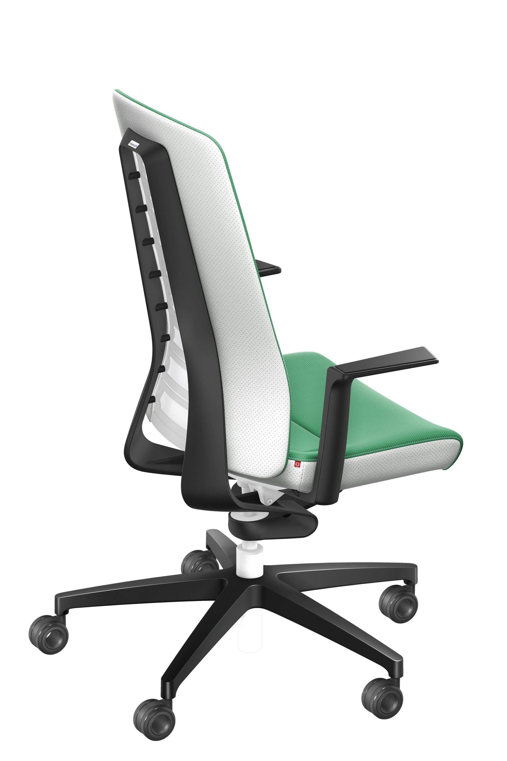 Schreibtischstuhl Green White Pure Fashion Edition Burostuhl Von Interstuhl Burostuhl Schreibtischstuhl Ergonomisches Sitzen