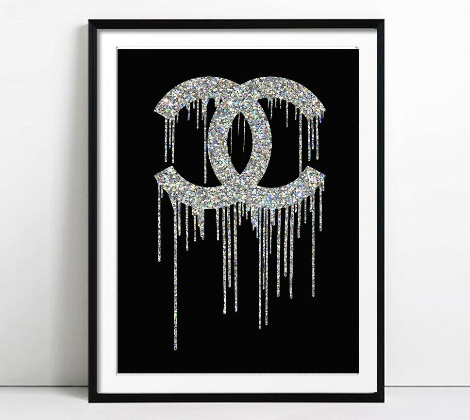 Coco Chanel Art, Chanel Print, Fashion illustration, Woman