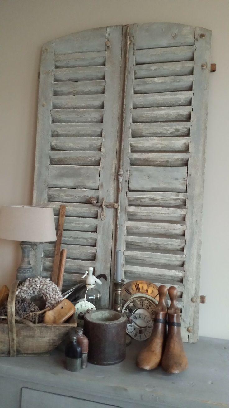 What Is Brocante Why Is It Popular Vintage American Home Vintage Shutters Shabby Chic Homes Home Decor Quotes