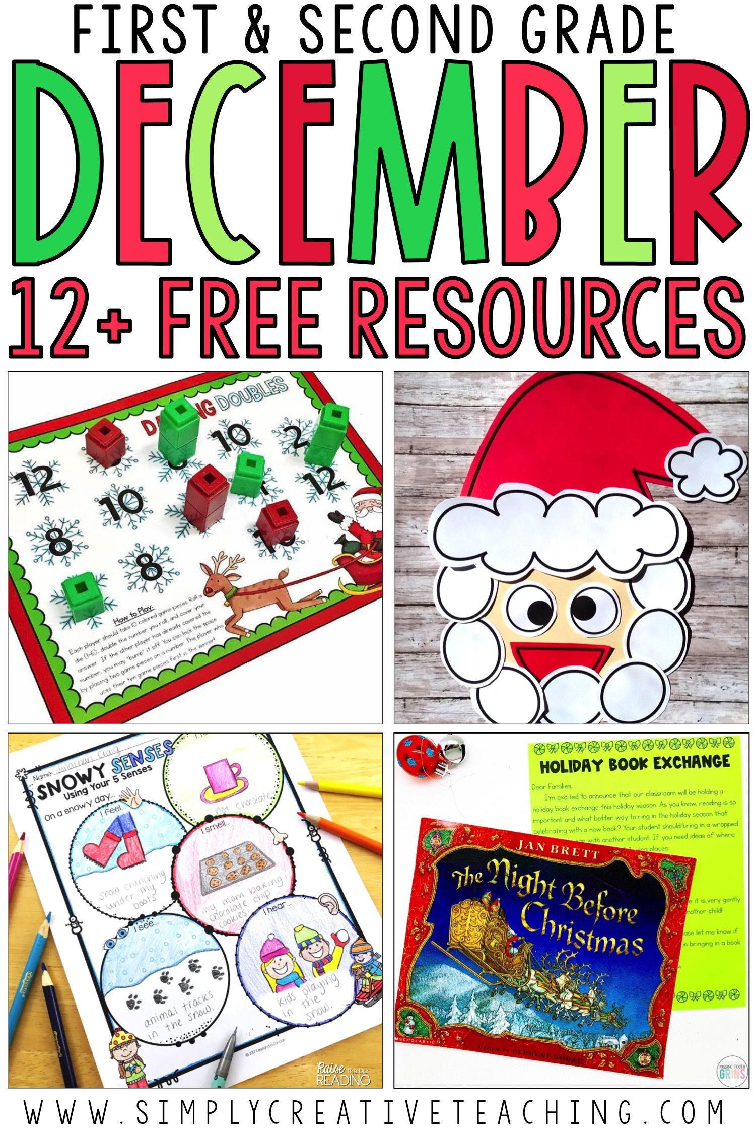 Free December Classroom Activities