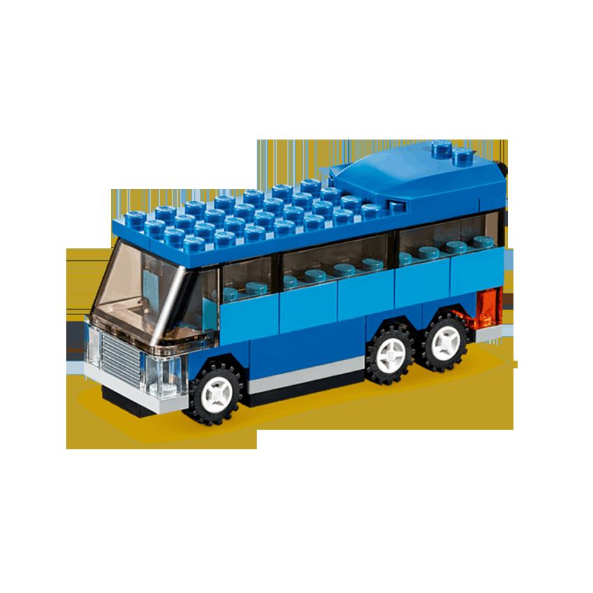 instruction de montage lego bus