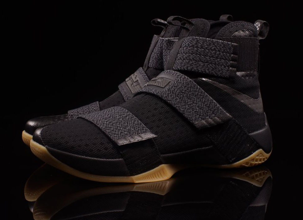 09559c72218 ... discount look out for the nike lebron zoom soldier 10 black gum 92020  bdc77