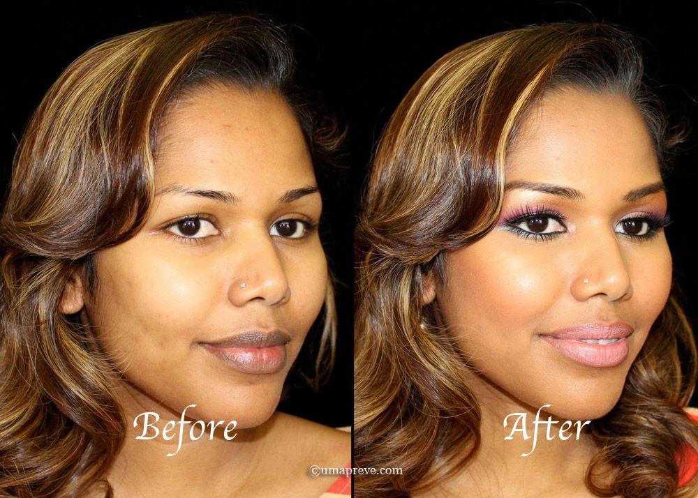 UmaPreve Luminess Air brush makeup for a flawless face