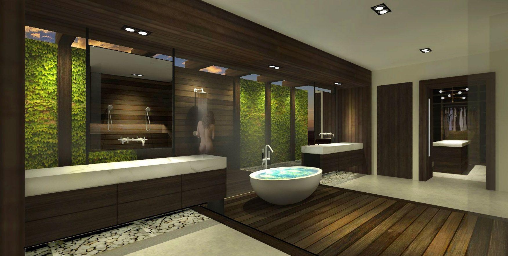 Casa blanca by petermax luxury master bath floating vanity