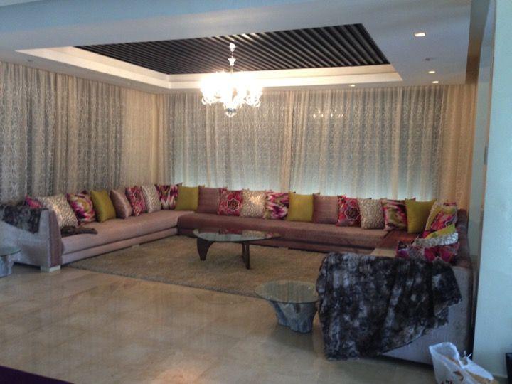 s-signature Salon Marocain Moderne mauve claire | salon | Salon ...