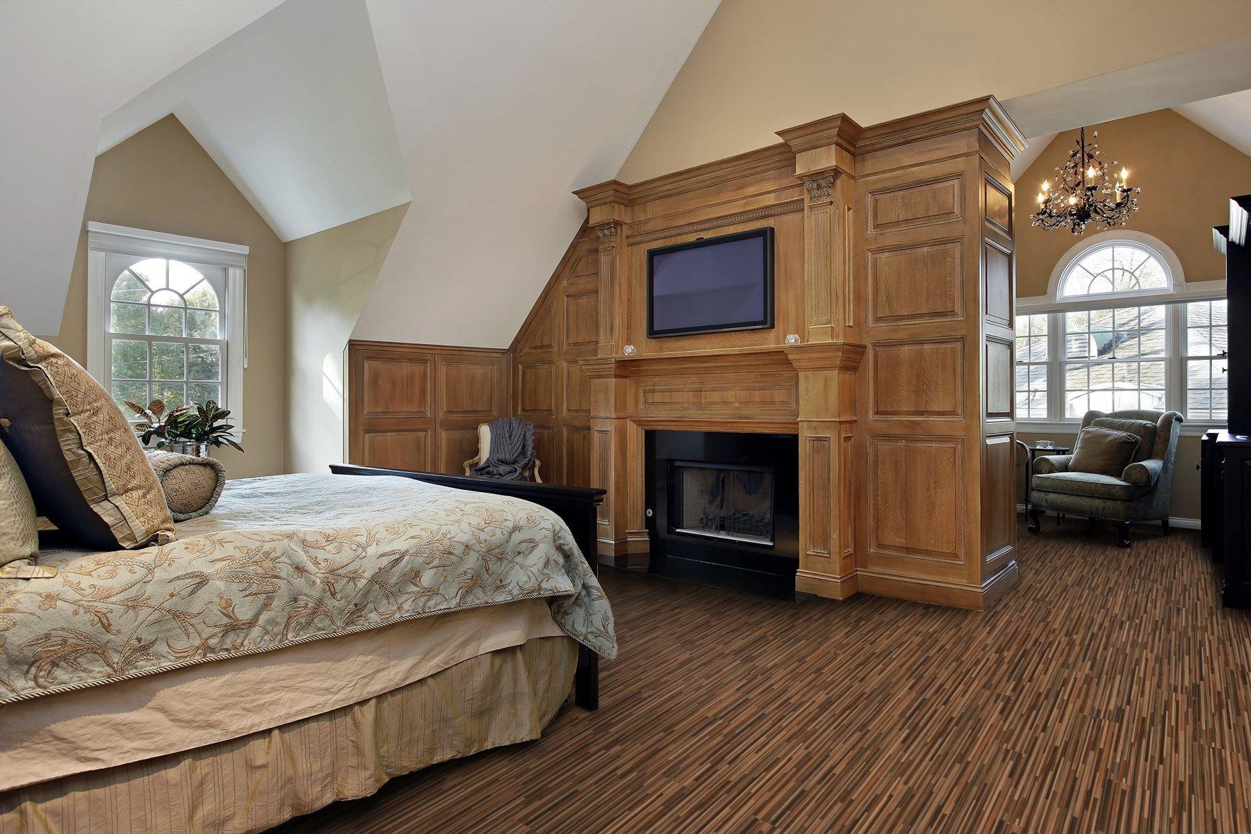 Fußboden Jordan ~ Cutting board stripes laminate flooring rustic schlafzimmer