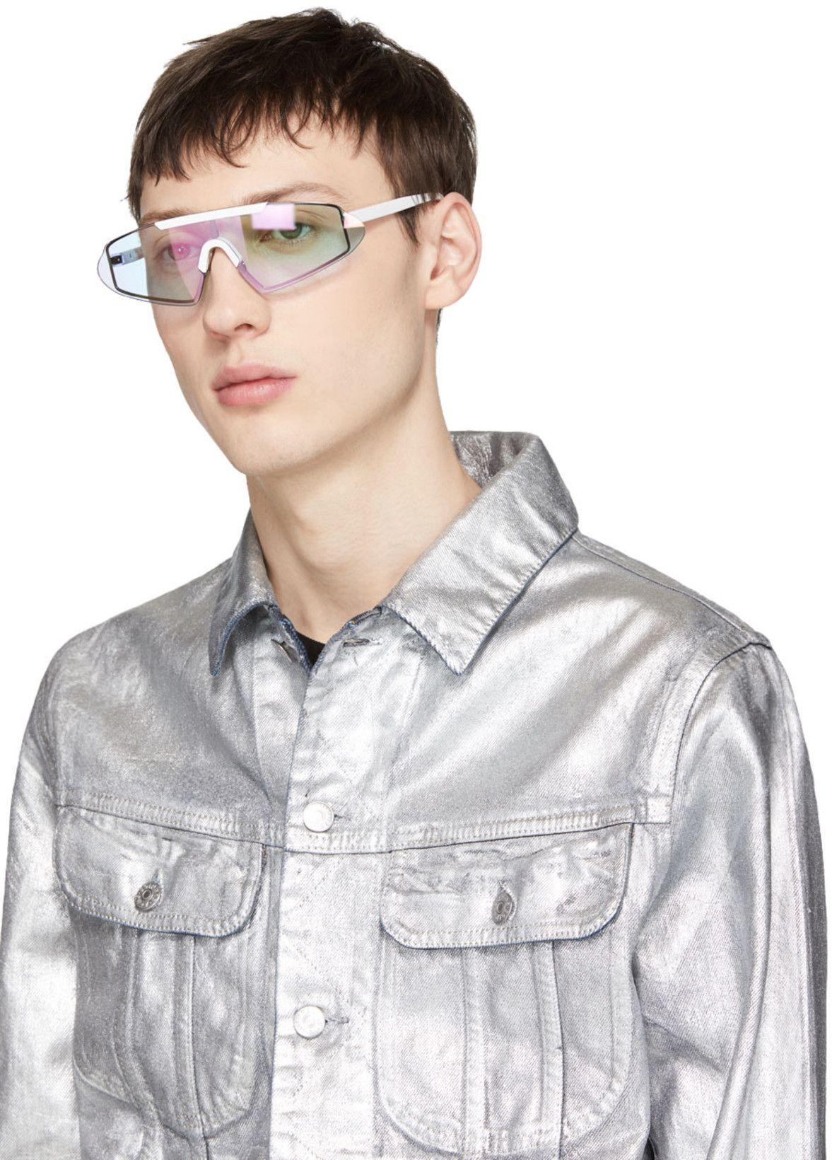 385d9592a93a7 Acne Studios - White Bornt Sunglasses