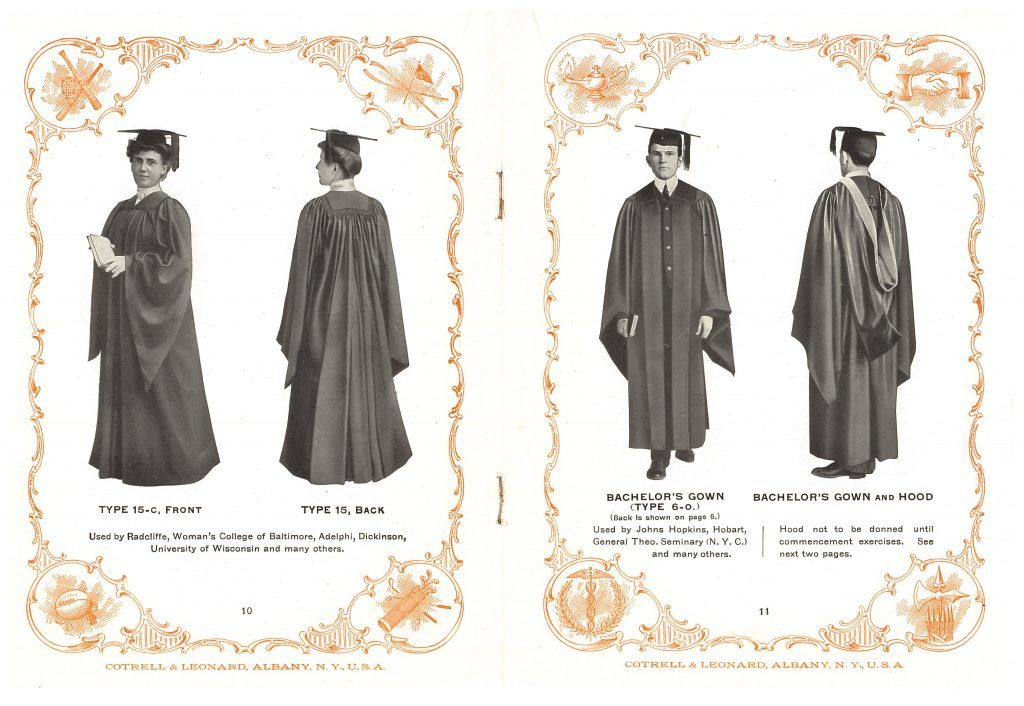 The Season Of Caps And Gowns Smithsonian Libraries Unbound Graduation Cap And Gown Cap And Gown Graduation Gown