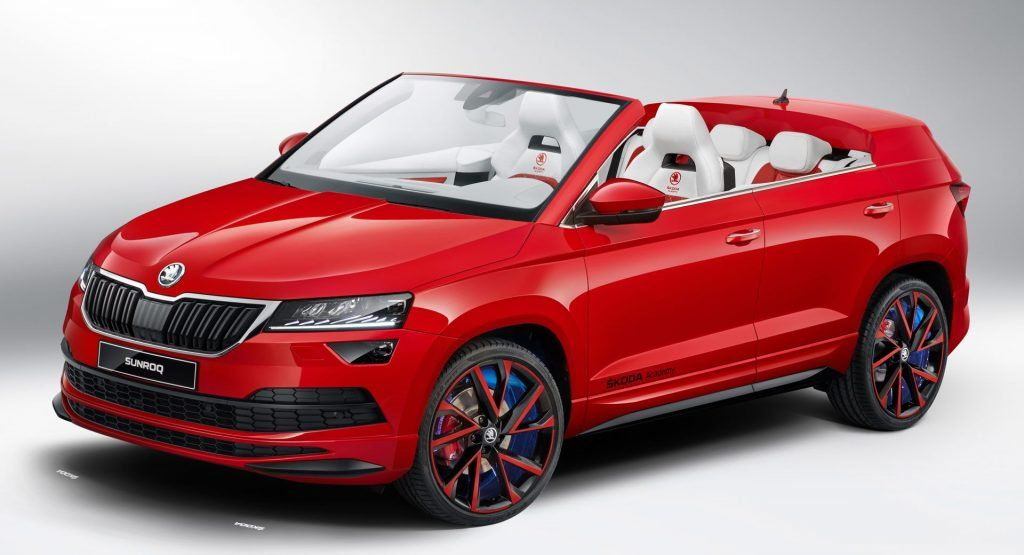Skoda's Students Reveal The Sunroq Convertible Crossover