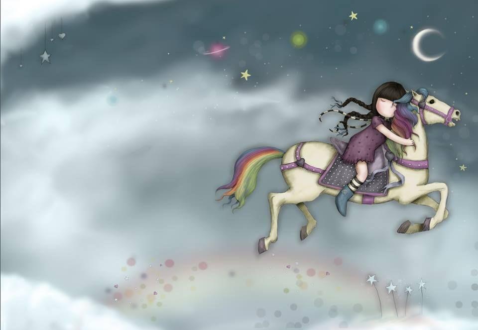 Rainbow horse!