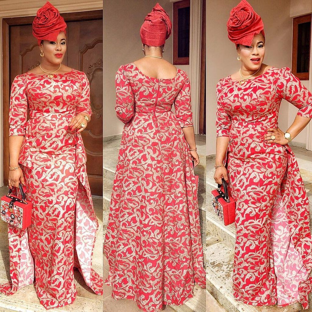2017 05 aso ebi fashion styles nigeria wedding event fashion - Step Up Your Game With These Eye Popping And Uber Classy Aso Ebi Styles Wedding Digest Naija