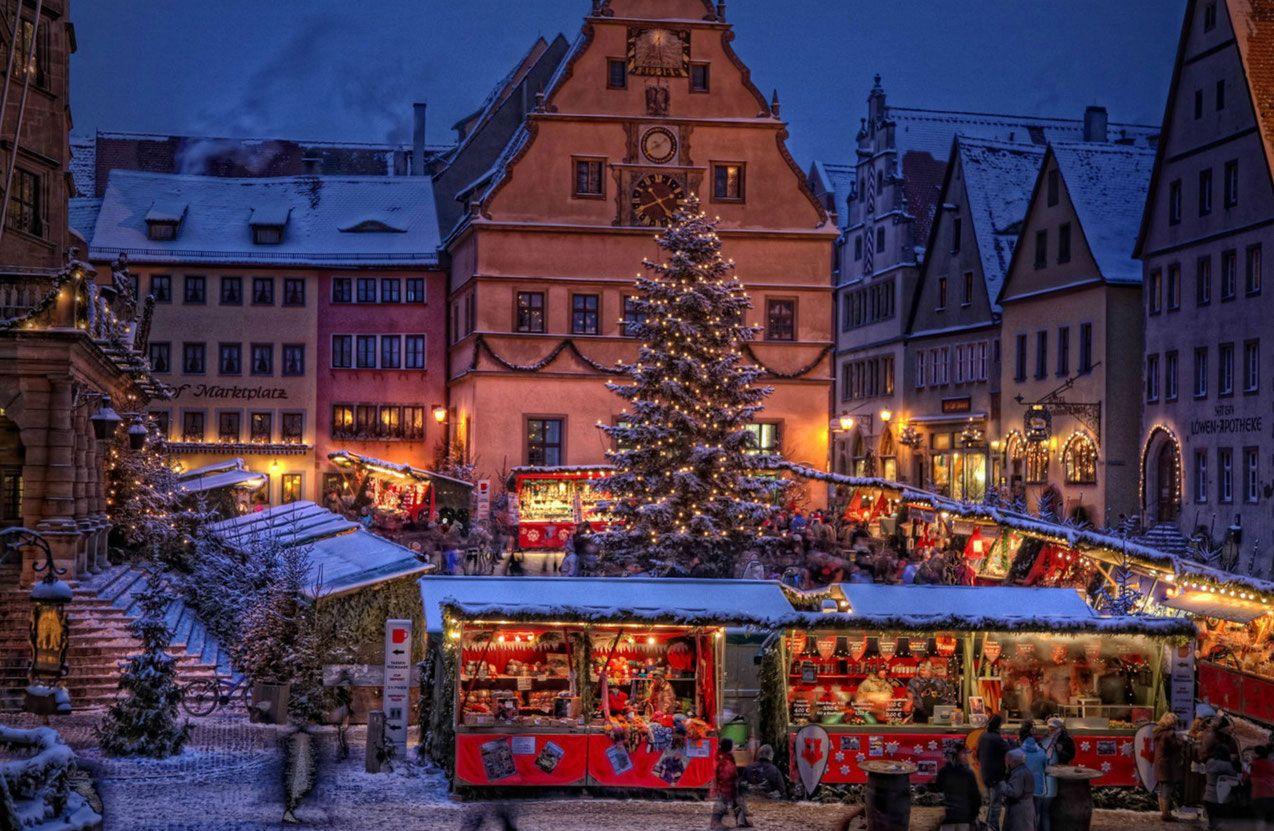 Rothenburg Christmas Market Christmas market, Rothenburg