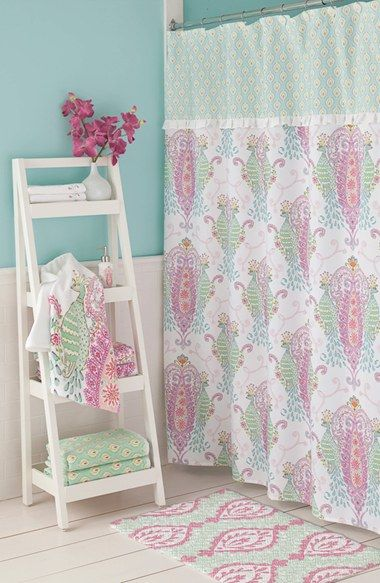 Dena Home Peacock Shower Curtain Available At Nordstrom