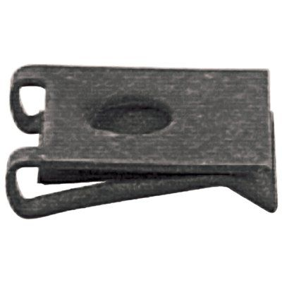 The Hillman Group 881248 1 4 In 20 Black Phosphate Steel Standard Sae U Spring Nuts 4 Pack Steel