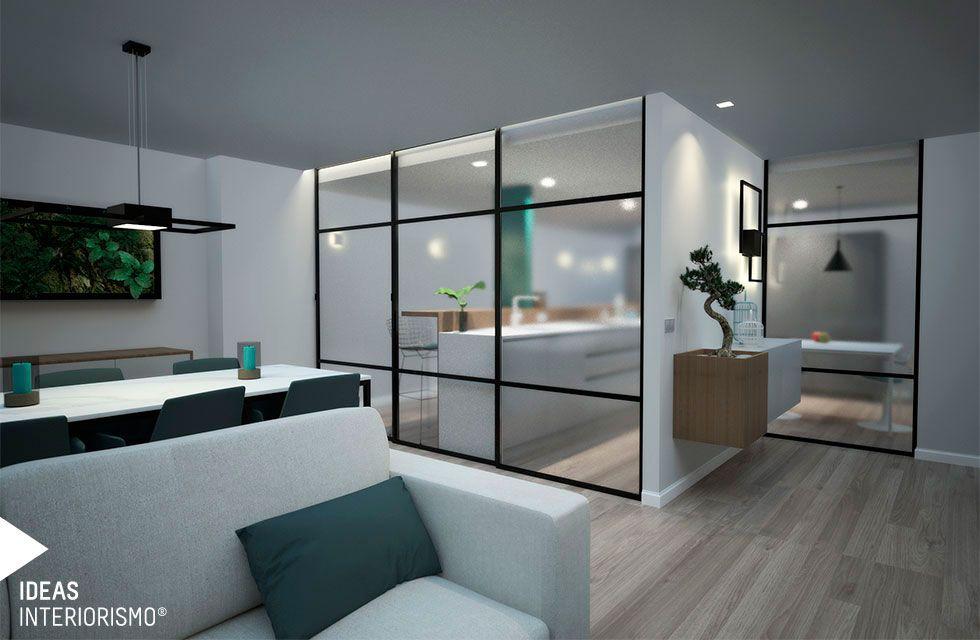 Sal n comedor y cocina en una nica estancia - Ideas interiorismo ...