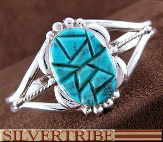 Southwest Jewelry Silver Turquoise Bracelet NS55030