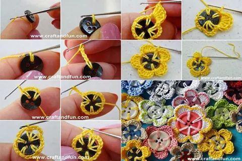 Flor con boton