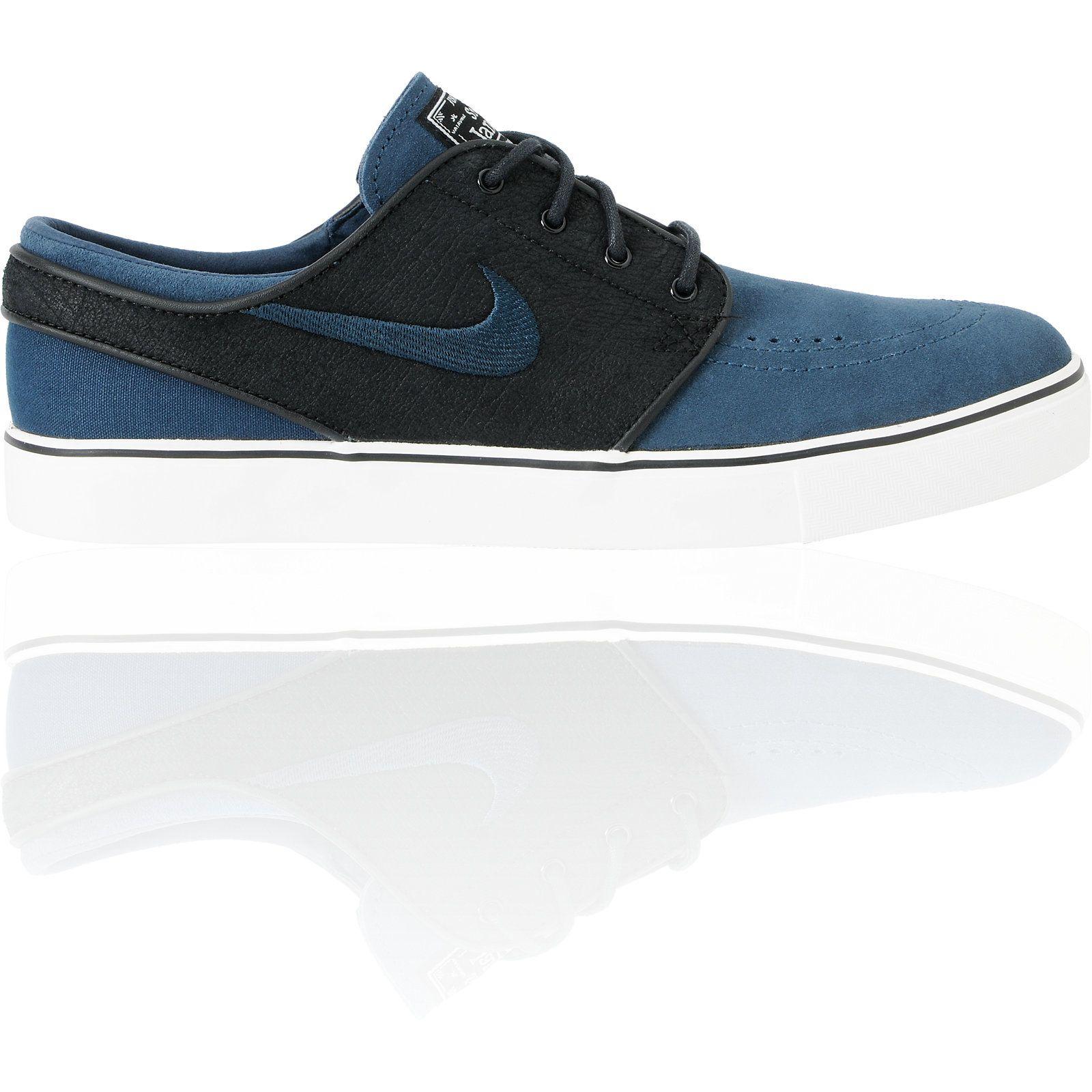 Adidas skate shoes zumiez - Nike Sb Zoom Stefan Janoski Black Deep Ocean Shoe At Zumiez Pdp