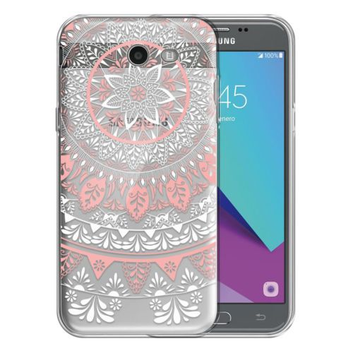 For Samsung Galaxy J3 Emerge J327 Transparent Clear Tpu Case Cover Protective Samsung Phone Cases Samsung Cases Samsung Galaxy Wallpaper
