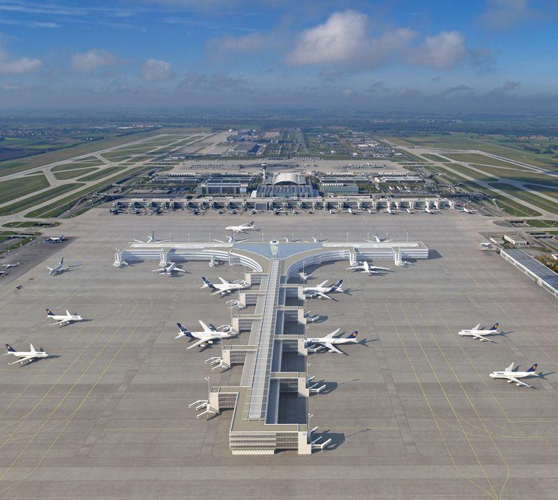 Aeroporto Internacional Franz Josef Straus (MUC), Munique, Alemanha