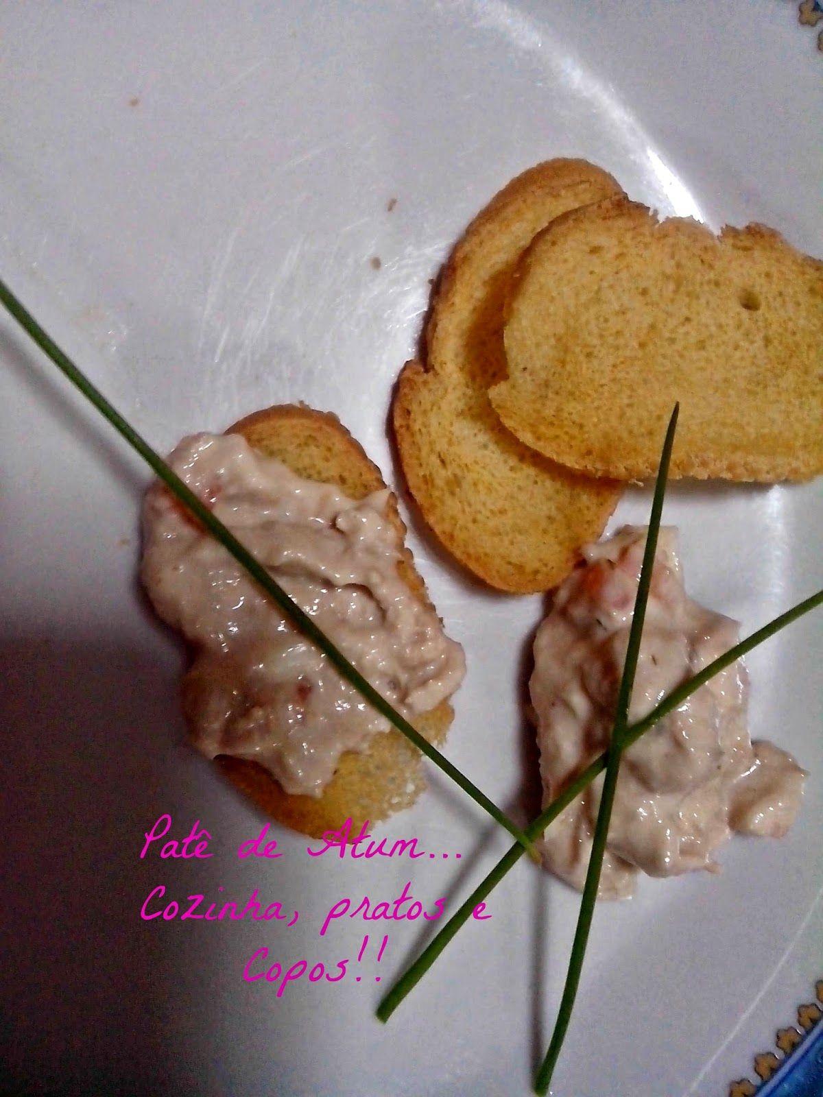 Cozinha, Pratos e Copos: Patê de Atum...