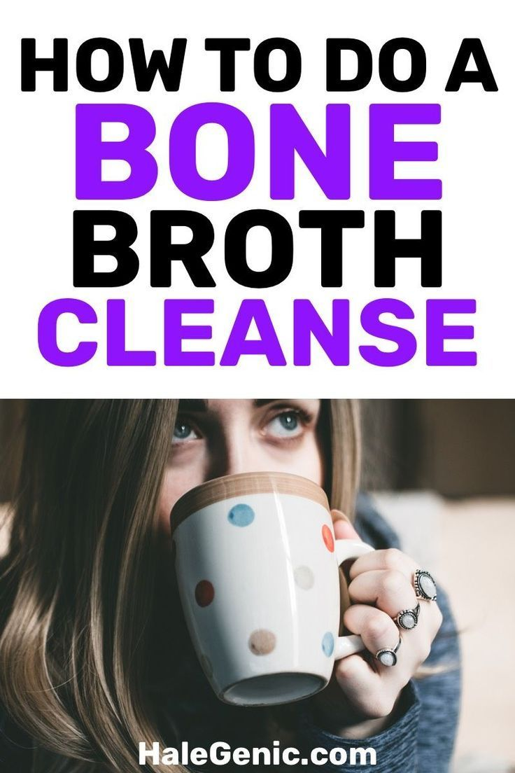 Treat yourself right with a bone broth cleanse. Your body will thank you for the choice you made by