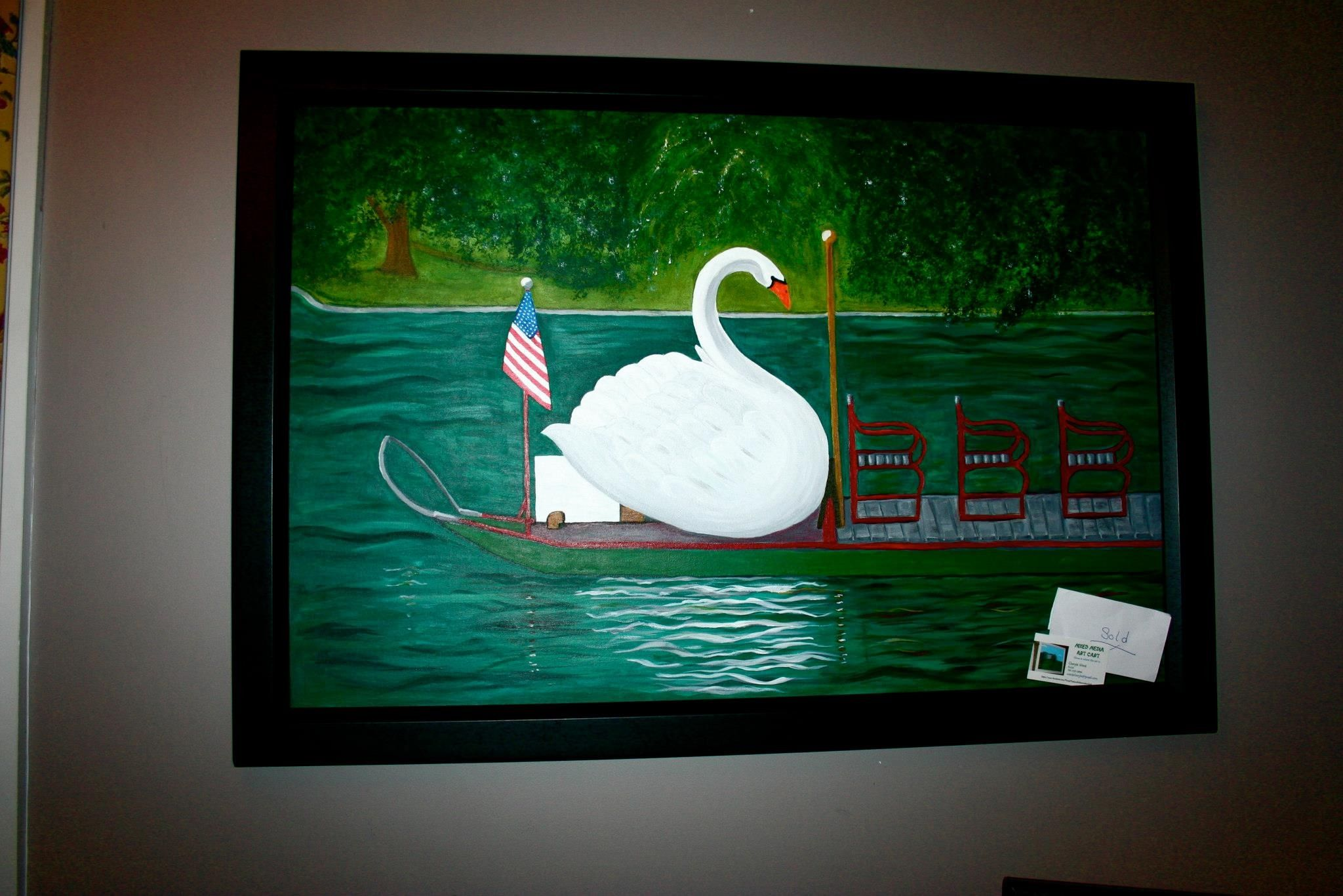 Boston swan boats sold