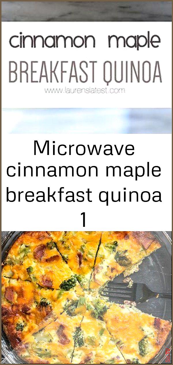 Microwave cinnamon maple breakfast quinoa 1 Microwave cinnamon maple breakfast quinoa 1 Charles Wil