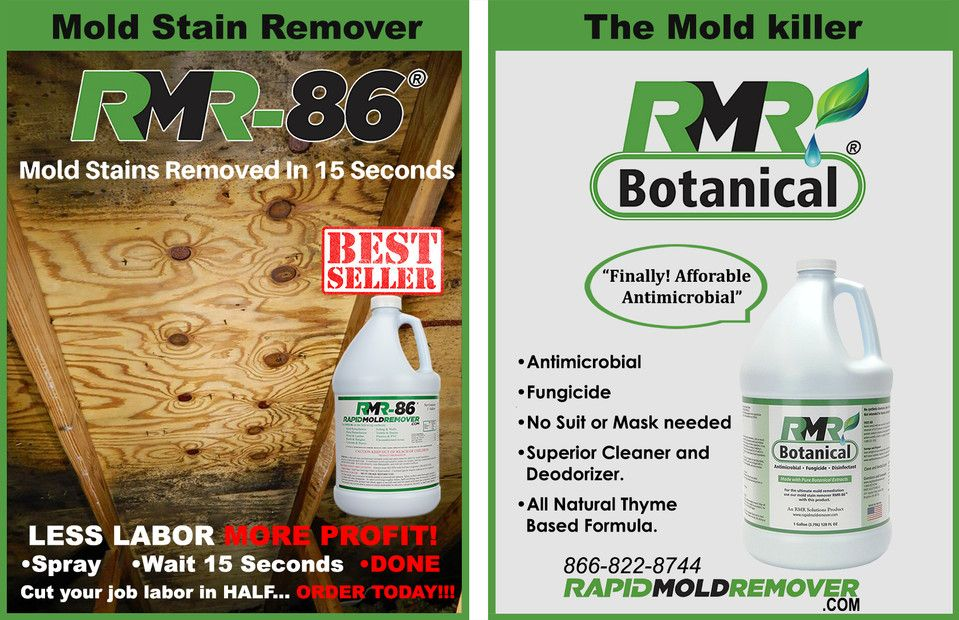 Haven T Tried It Anyone Mold Removal In 15 Seconds Rmr 86 Is