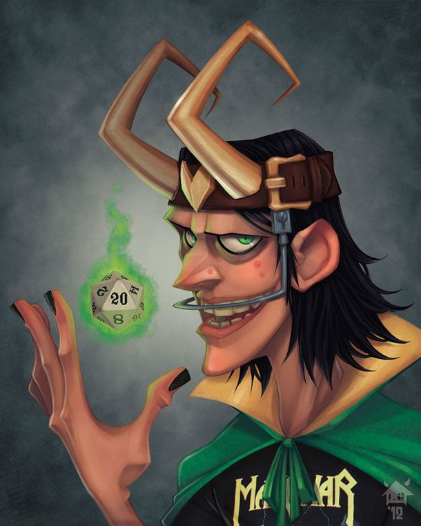 Simply Awesome Yearbook Photos Of Supervillains - Loki