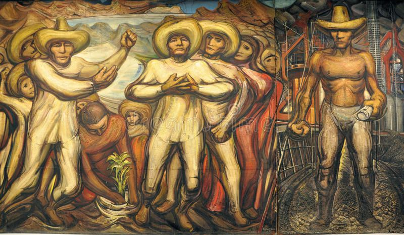 David Alfaro Siqueiros Mural Of David Alfaro Siqueiros Named The
