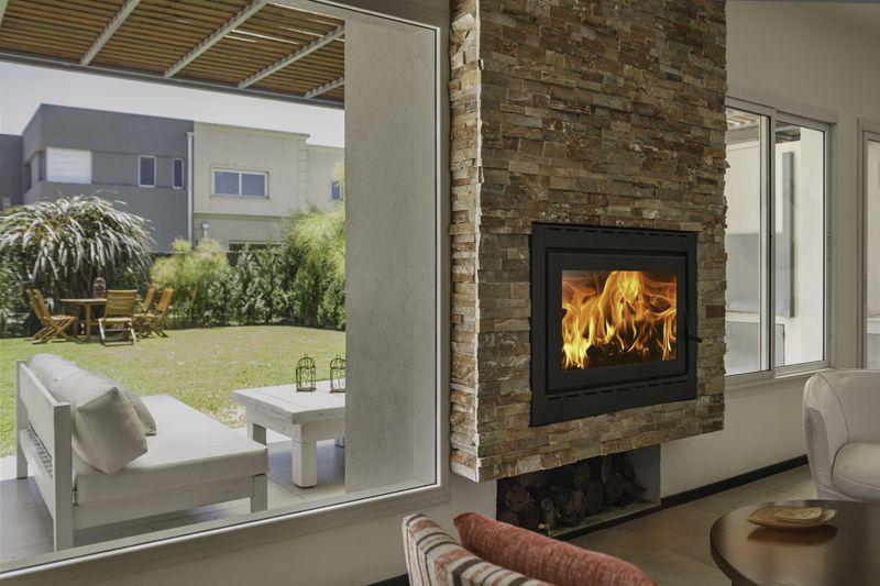 die besten 25 calefactores ideen auf pinterest holzofen. Black Bedroom Furniture Sets. Home Design Ideas