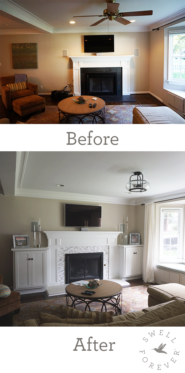 Atlanta Renovations Before After Photos With Images: Built In Bath, 1940s Home, Home