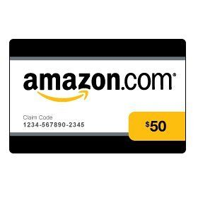 $50 Amazon Gift Card Giveaway - Worldwide 12/1 - Daily Entry