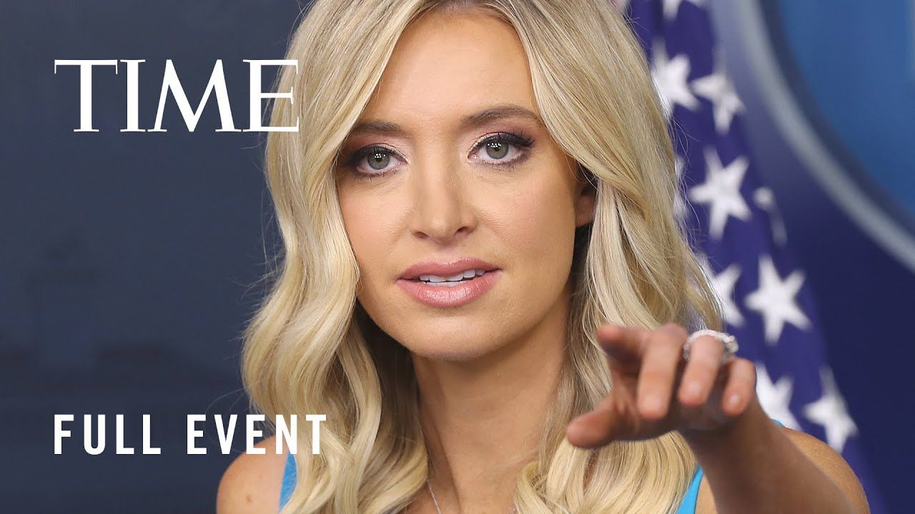 White House Press Secretary Kayleigh Mcenany Holds A Briefing Time Youtube In 2020 Kayleigh Mcenany Celebrity News People Change