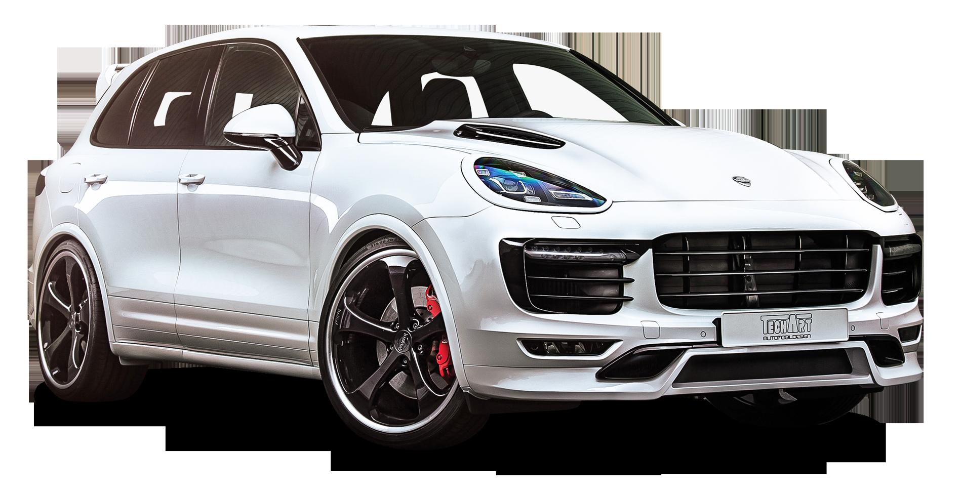 Techart Porsche Cayenne White Car Png Image Porsche Cayenne Porsche White Car