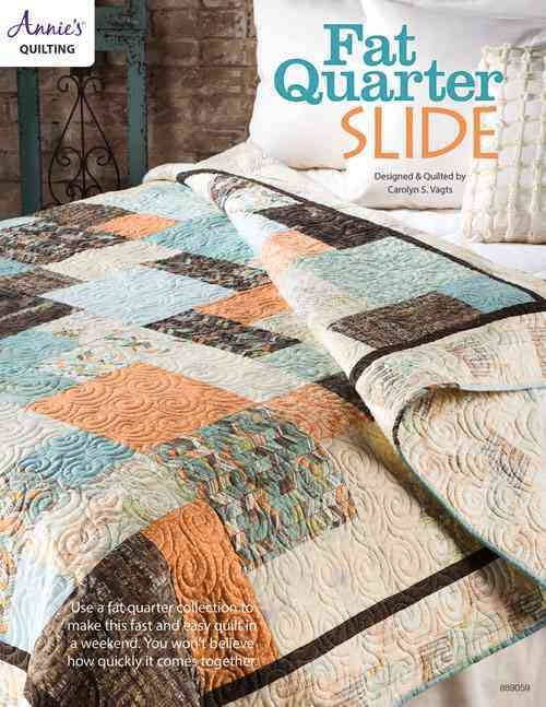 Use a fat quarter collection to make this fast and easy quilt in a ... : quilt in a weekend - Adamdwight.com