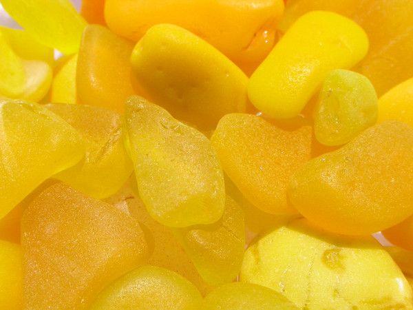 Yellow Sea Glass