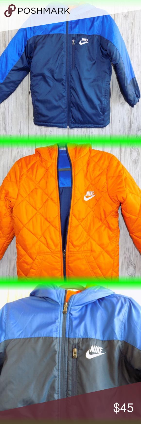 Nike Boy Winter Coat Jacket Hooded 10 14 Medium Boys Winter Coats Winter Coats Jackets Jackets [ 1740 x 580 Pixel ]
