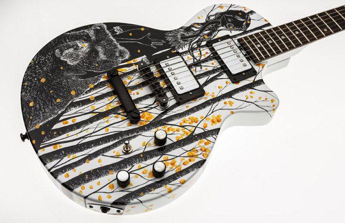 cool acoustic guitar designs moniker guitars auction guitars