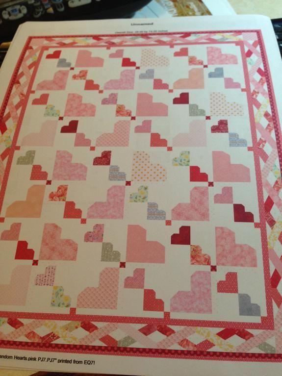 Random Hearts Random And Patterns