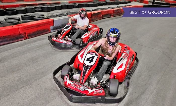MB2 Raceway  - Des Moines: One or Three Junior or Adult Go-Kart Races, or VIP Track Pass with Race Discounts at MB2 Raceway (Up to 50% Off)