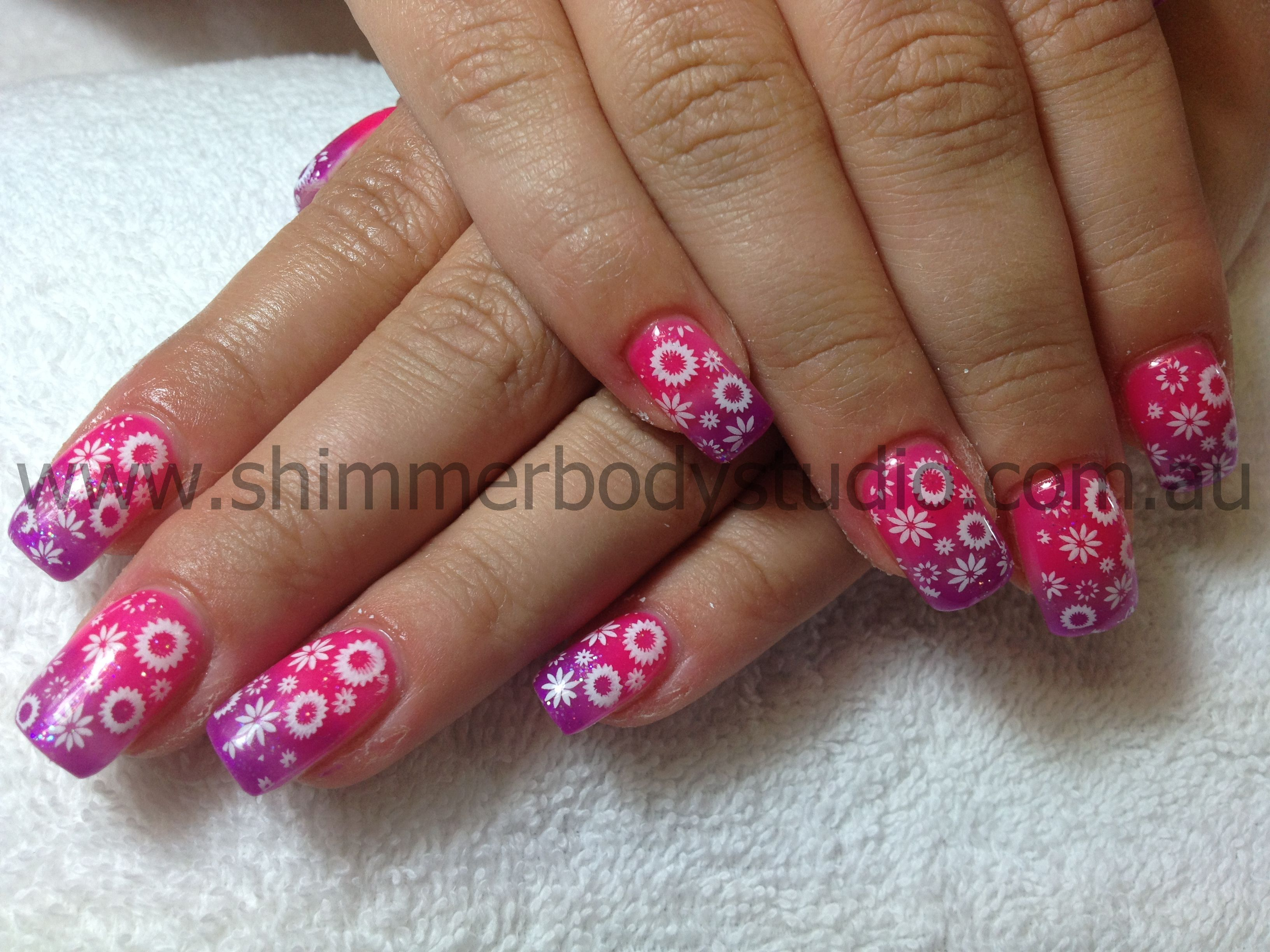 Gel Nails Konad Stamping Nail Art Cool Nail Art Pinterest