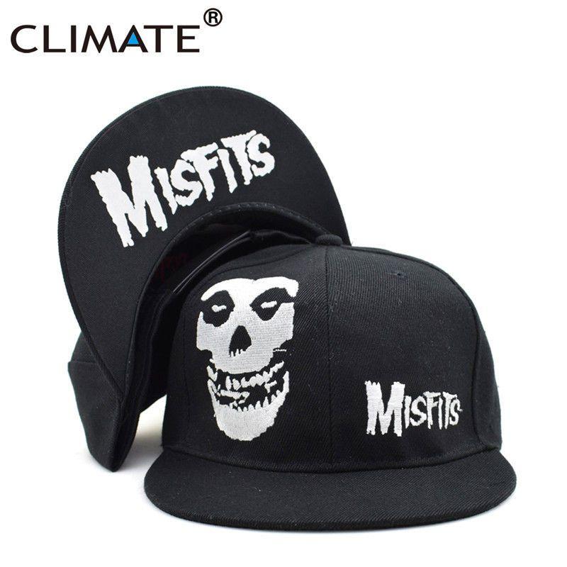 8d07a0be9 Details about CLIMATE Misfits Hip Hop Snapback Caps Hat The Misfits ...