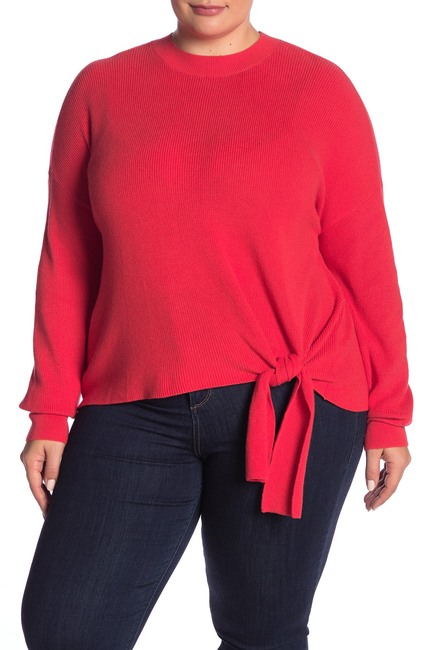Abound | Solid Tie Front Sweater (Plus Size #nordstromrack