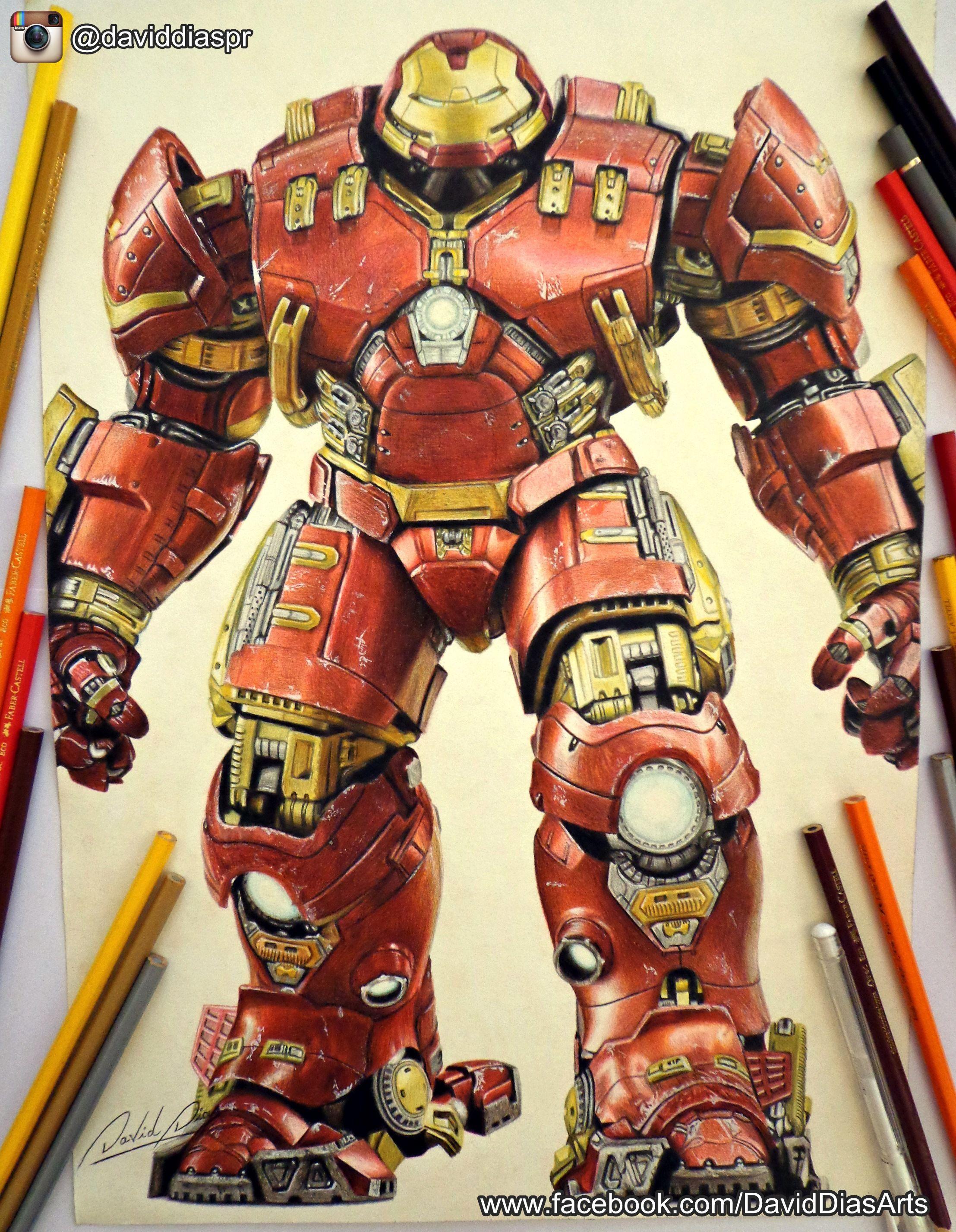 Hulkbuster Draw Iron Man Hulkbuster Hulkbuster Iron Man