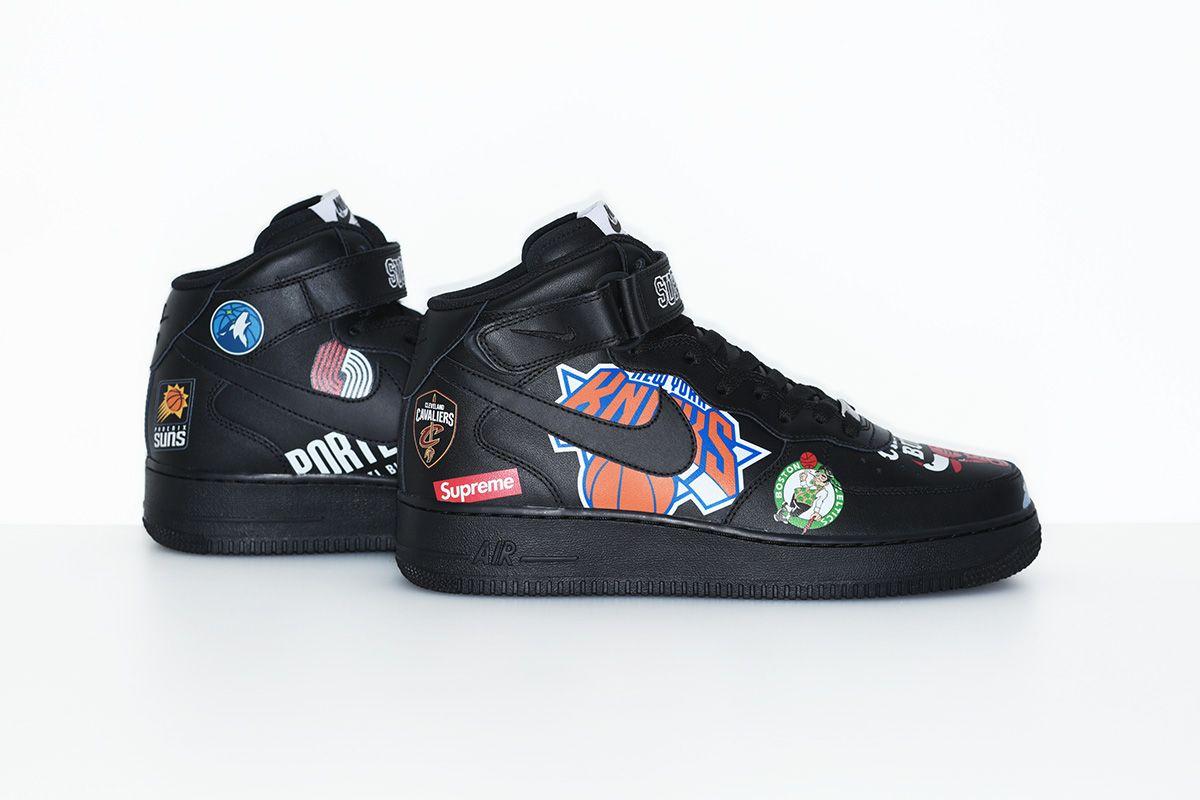 Nike x NBA x Supreme   Nike, Nike air force, Nike snkrs