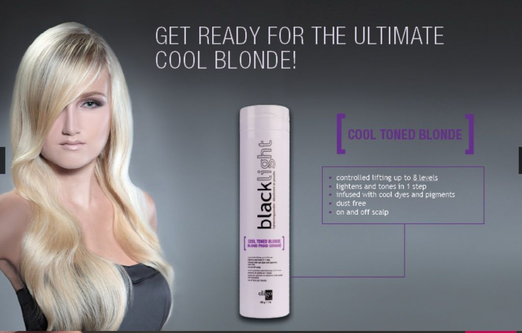 Cool toned blondes? Easy! Blacklight cool tons powder