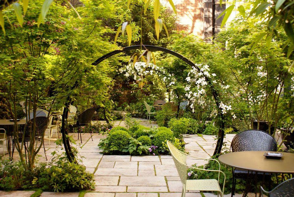 Jardin au coeur de Paris : Hotel de Charme – Regent Garden – Surface ...