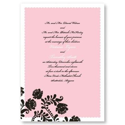 Primrose Wedding Invitations stuff